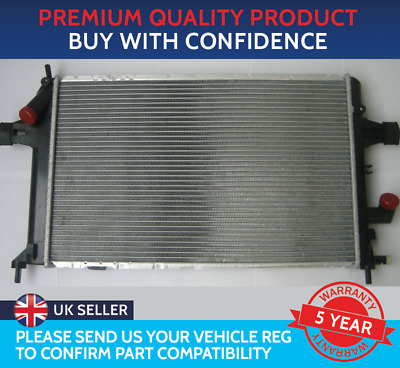 £76.22 • Buy RADIATOR TO FIT VAUXHALL ASTRA G MK4 ZAFIRA A MK1 1.7 DTi DIESEL 42mm THICK CORE