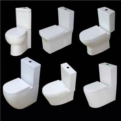 £139.99 • Buy Toilet WC Close Coupled Cloakroom Comfort Round Square Bathroom