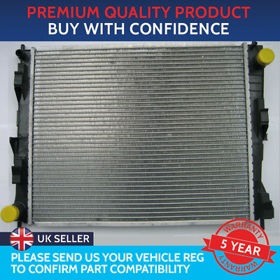 Radiator To Fit Nissan Micra K12 2003 To 2010 Renault Clio Mk3 2005 To 2012 • 34£