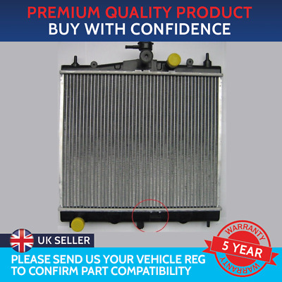 Radiator To Fit Nissan Micra K12 2003 To 2010 Nissan Note Renault Clio Modus • 40.50£
