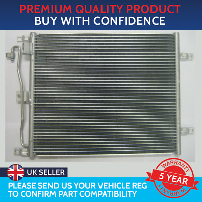 £56.37 • Buy CONDENSER AIR CON RADIATOR TO FIT NISSAN MICRA K12 NISSAN NOTE E11 1.5 DCi