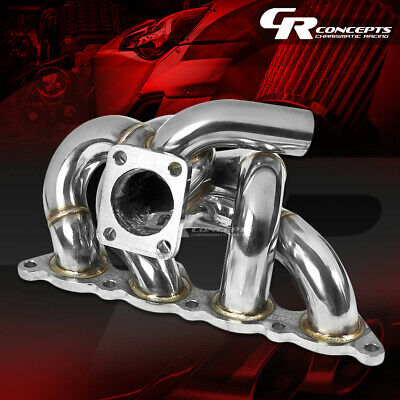 AU185.35 • Buy For 93-02 Mirage/lancer/evo 8/9 4g93/swap T25 Turbo Manifold Stainless Exhaust