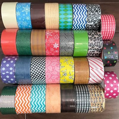 $4.99 • Buy You Pick Platypus Brand Designer Duct Tape Rolls!! Prints & Patterns Duck Tape