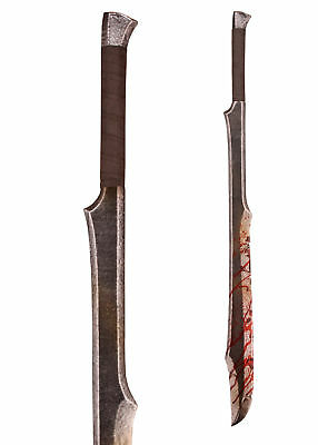 Orc's Slasher - LARP Sword, Semi, Rusty Or Bloody - Foam Sword - Latex Weapon • 69.95£