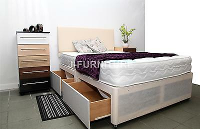 5ft Luxury King Size Divan Bed Base.Storage.Cheapest on !Factory Shop!