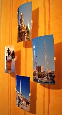 Photo/Picture/Postcard Easy Display Frames Holders Floating • 5.95£