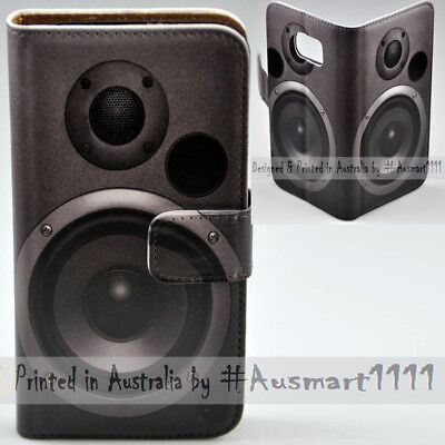 AU14.98 • Buy For OPPO Series - Subwoofer Theme Print Wallet Mobile Phone Case Cover