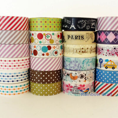 AU2.90 • Buy $2.9 For 3 Washi Tape Or $2 For A Big Single Roll 15mm * 2.5m Each Roll