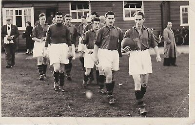 Unknown Football Postcard ~ Team And Date Unknown But I Would Guess Inter War • 4.99£