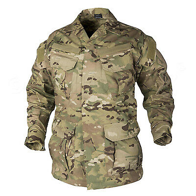 HELIKON SHIRT Combat SFU  MULTICAM Camo Army Tactical Airsoft Military MR NEW • 29.90£