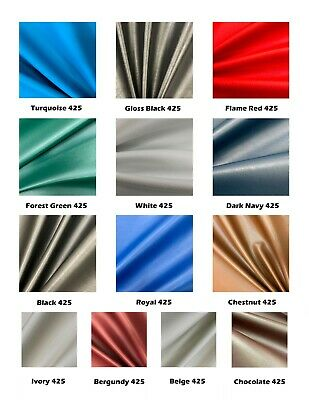 £1.29 • Buy MIAMI LEATHERETTE FABRIC FOR UPHOLSTERY Faux Leather Car Material FR Vinyl 137cm