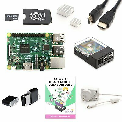 AU144 • Buy Little Bird Raspberry Pi 3 + Complete Starter Kit