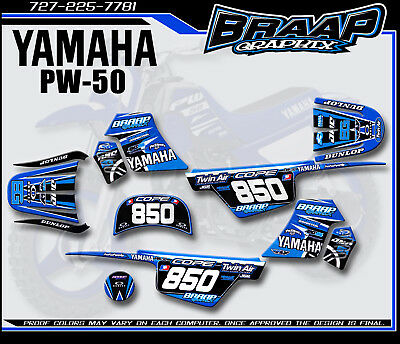 $ CDN72.57 • Buy Yamaha PW-50 Bradford Replica LL Graphics Decal Kit
