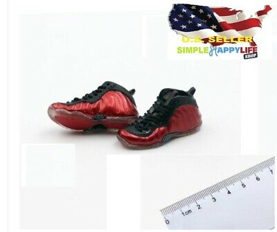 $18.74 • Buy 1/6 Male Red Sneakers Shoes HOLLOW Basketball For Enterbay Hot Toys Phicen ❶USA❶