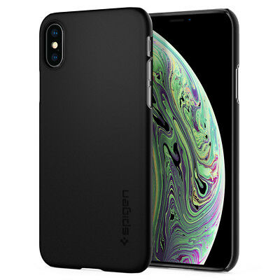 AU15.45 • Buy IPhone X XS Case Spigen®[Thin Fit] Ultra Slim Lightweight Protective Cover