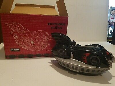 1997 WB DC Batman & Robin BATMOBILE Cookie Jar In Box • 36.18£