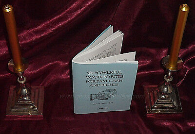 £49.99 • Buy 20 POWERFUL VOODOO RITES  Finbarr Occult. Magick Grimoire. Witchcraft. Magic