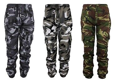 £15.99 • Buy Mens Camouflage Camo Joggers Jogging Bottom Army Military Trousers Hunting Shoot