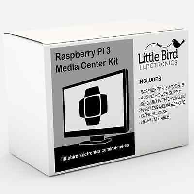AU179.95 • Buy NEW Raspberry Pi 3 Media Center Kit