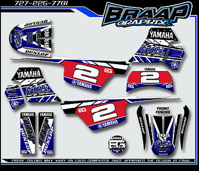 $ CDN72.57 • Buy Yamaha PW-50 Braap Graphix Decals Graphics Kit