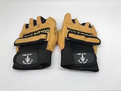 Pair Of Gold's Gym Gloves Size (L) • 15£