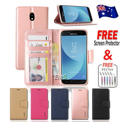 AU7.99 • Buy For Samsung Galaxy J2 Pro J5 J7 Pro A8 J8 2018 Hanman Wallet Leather Case Cover