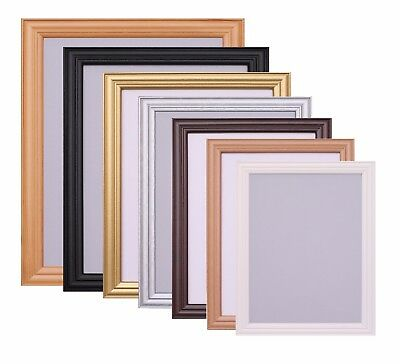 £3.45 • Buy Photo Picture Frame Poster Black White Frame A1 A2 A3 A4 A5 10x8 6x4 Inch Frame