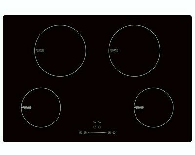 MyAppliances REF29131 77cm Induction Hob Touch Control Booster Black • 259.95£