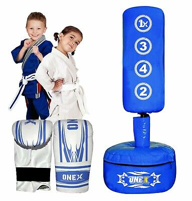 AU90.66 • Buy Indoor 3.6 Ft Free Standing Boxing Punch Bag Stand MMA Kick Martial Art Training