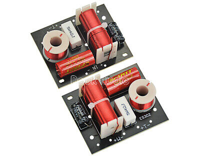 $ CDN32.26 • Buy 2PCS 2-way Speaker Frequency Divider Soundshelf Crossover For Loudspeaker Box