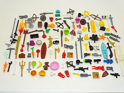 £3.99 • Buy Lego 20pce Minifigure Accessories Pack Random Mix Of Hats Tools Etc GREAT GIFT!