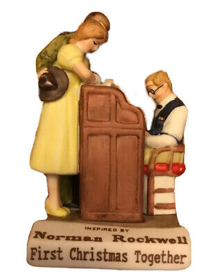 $ CDN15.31 • Buy Norman Rockwell Dave Grossman First Christmas Together 1993