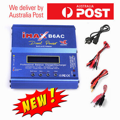 AU47.48 • Buy IMax B6AC 80W RC Lipo Lithium NiMh Digital Battery Balance Charger Discharger