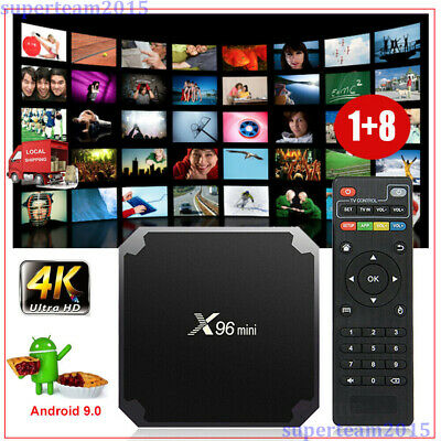 AU39.99 • Buy X96MINI 4K Android 9.0 Pie Quad Core Media Player Smart TV BOX WIFI HDMI MINI PC