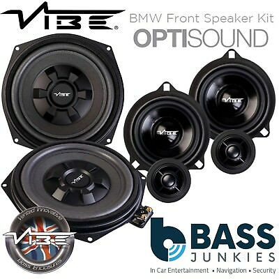 Vibe BMW 1 Series F20/21 8  Underseat Car Subs & Front Door Speaker Upgrade Kit • 309.99£