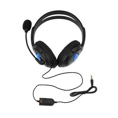 AU19.95 • Buy Gaming Headset Headphone With Microphone Volume Wired For Sony PS4 PlayStation 4