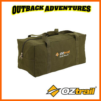 AU39.95 • Buy Oztrail Canvas Duffle Bag X-large Heavy Duty Camping Outdoor  New Model 2019