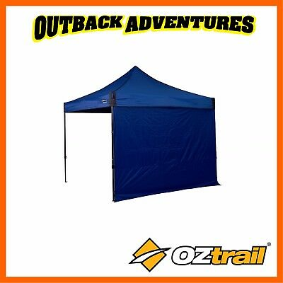 AU39.95 • Buy Oztrail Fiesta Deluxe Gazebo 3m Solid Wall Kit - Blue-