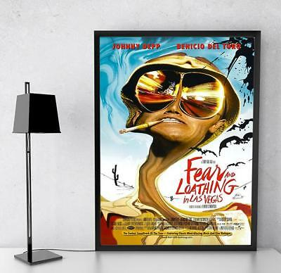 Fear And Loathing In Las Vegas Movie Film Poster Print Picture A3 A4 • 3.92£