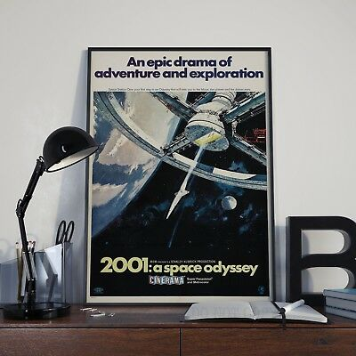 £3.99 • Buy Stanley Kubricks 2001 : A Space Odyssey Movie Film Poster Print Picture A3 A4