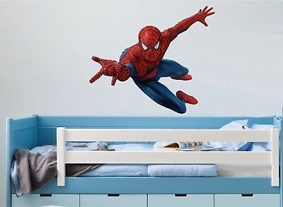 SPIDERMAN WALL ART STICKER - 5 X Great Sizes - Great Decal For Any Room • 14.35£