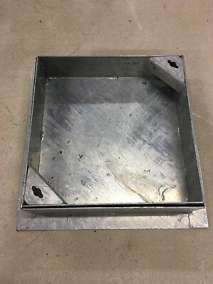 300 X 300 X 80mm MANHOLE COVER  Recessed - Driveway Rated All Steel Frame & Tray • 38.25£