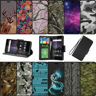 $ CDN14.11 • Buy For Samsung Galaxy S8 Plus | S8 Edge Plus G955 Wallet Case Magnetic Snap Camos
