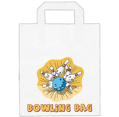 Ten Pin Bowling Party Bags  / Loot / Goody Bags - Girls Boys Kids Birthday • 3.49£