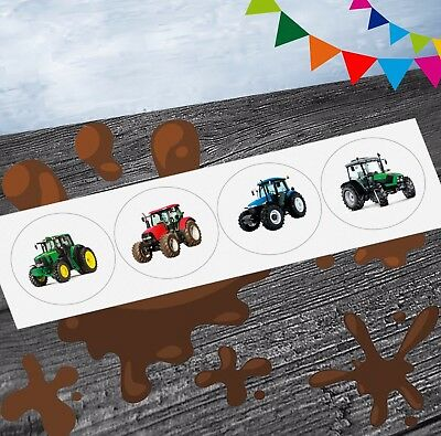 Tractor Mix Farm Party Stickers (Pack Of 12) Party Goody Bag Fillers Girls Boys  • 2.99£