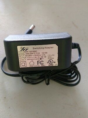 AC Adapter 12V 1.5A Switching Power Supply Adapter For 100V-240V AC 50/60Hz New • 5.99$