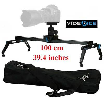 $259 • Buy Video Ice 100cm 39.4  Camera Track Dolly Slider ROLLER Bearing Load 17.5 Lbs