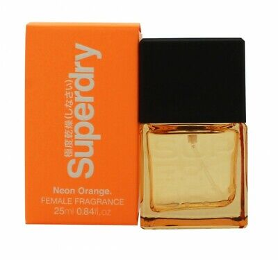Superdry Neon Orange Eau De Cologne Edc 25ml Spray - Women's For Her. New • 13.22£