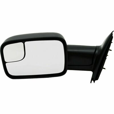$85.87 • Buy New CH1320227 Left / Driver Side Manual Towing Mirror For Dodge Ram 2002-2009