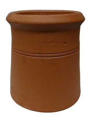 Clay Chimney Pot VARIOUS SIZES Cannon Head Chimney Pot Red Clay Chimney Pot • 96.99£